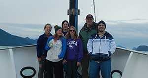 Dr. Ron Kiene leads research cruise to the subarctic North Pacific Ocean