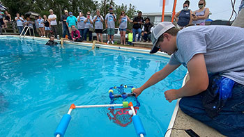 Four states represented in 8th annual ROV competition