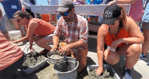 Digging deep in the northern Gulf to discover the past