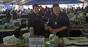 Team DISL fisnishes Top 10 in World Seafood Championship